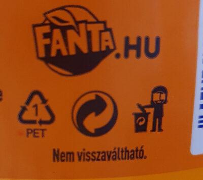 Narancs - Instruction de recyclage et/ou informations d'emballage - hu