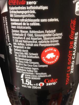 Coca-Cola Zero - 3
