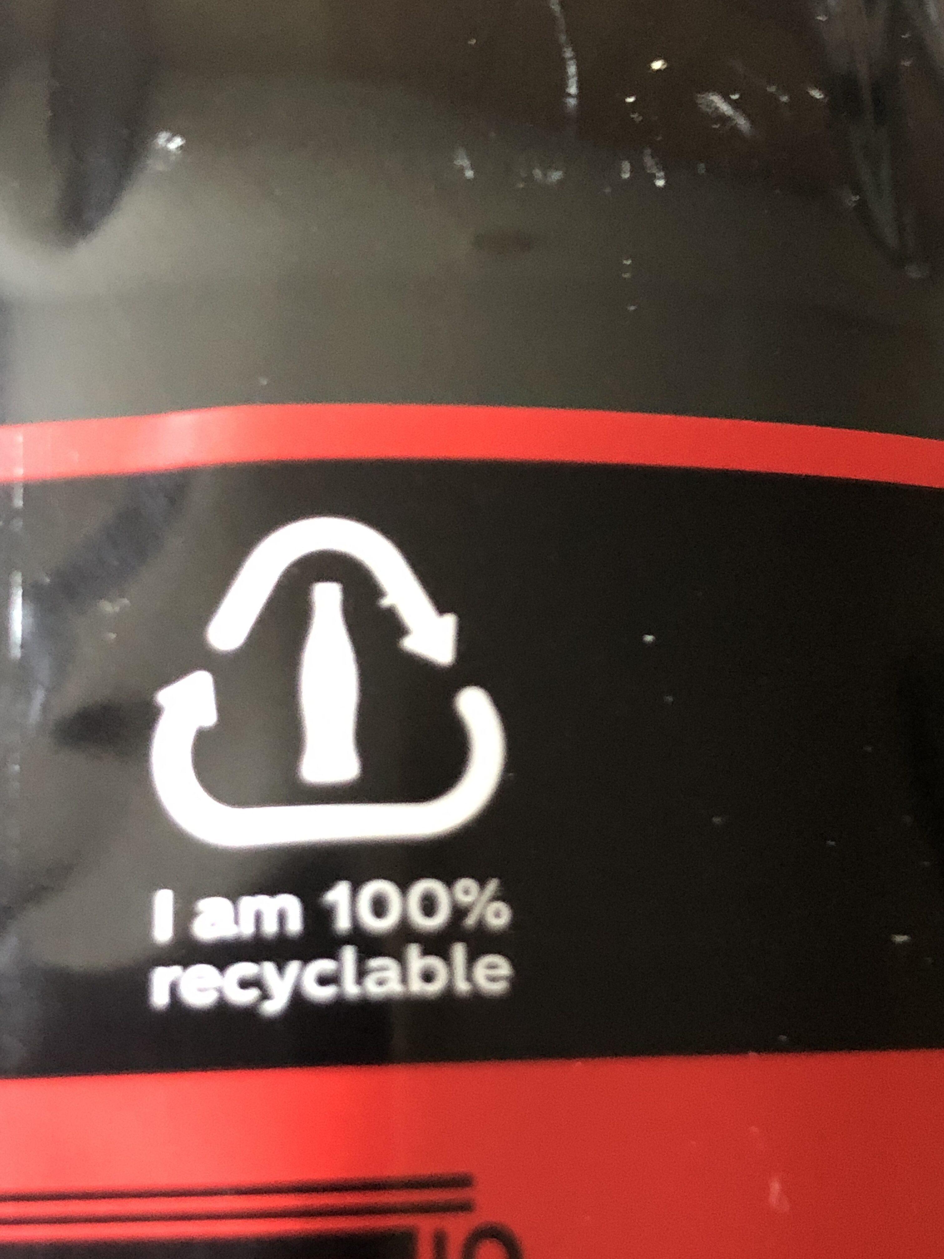 Coca Cola Zero - Istruzioni per il riciclaggio e/o informazioni sull'imballaggio - en