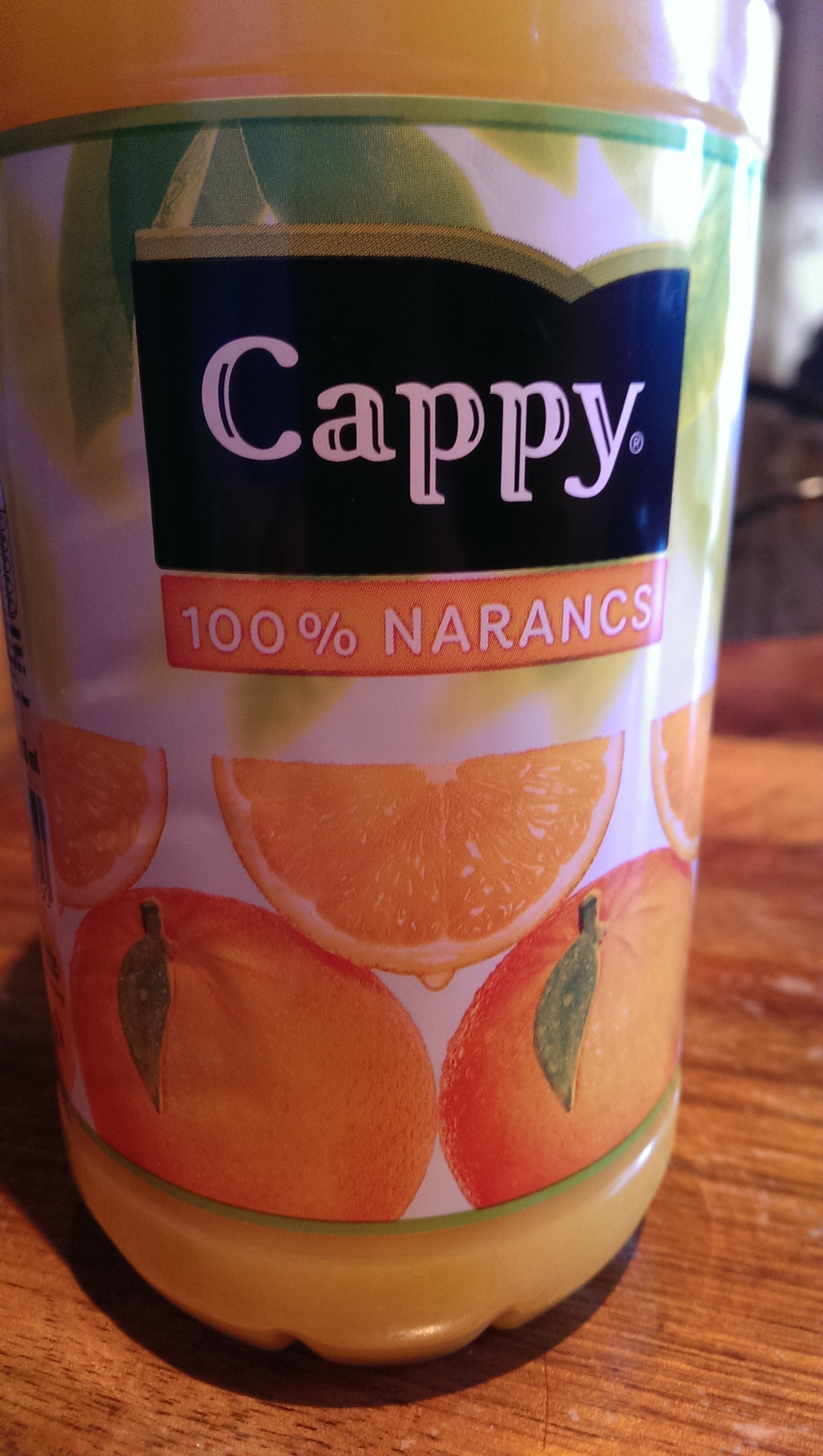 Cappy 100% orange - Produit - fr