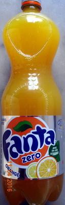 Fanta zéro Orange - Produit - fr