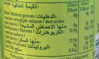 Pom's Apple Soda - DH 4, 00 - Informations nutritionnelles