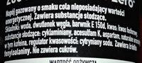 Napój gazowany o smaku cola - Ingredients - pl