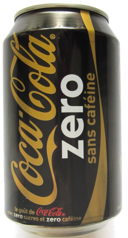 Coca Cola zéro sans caféine - Product