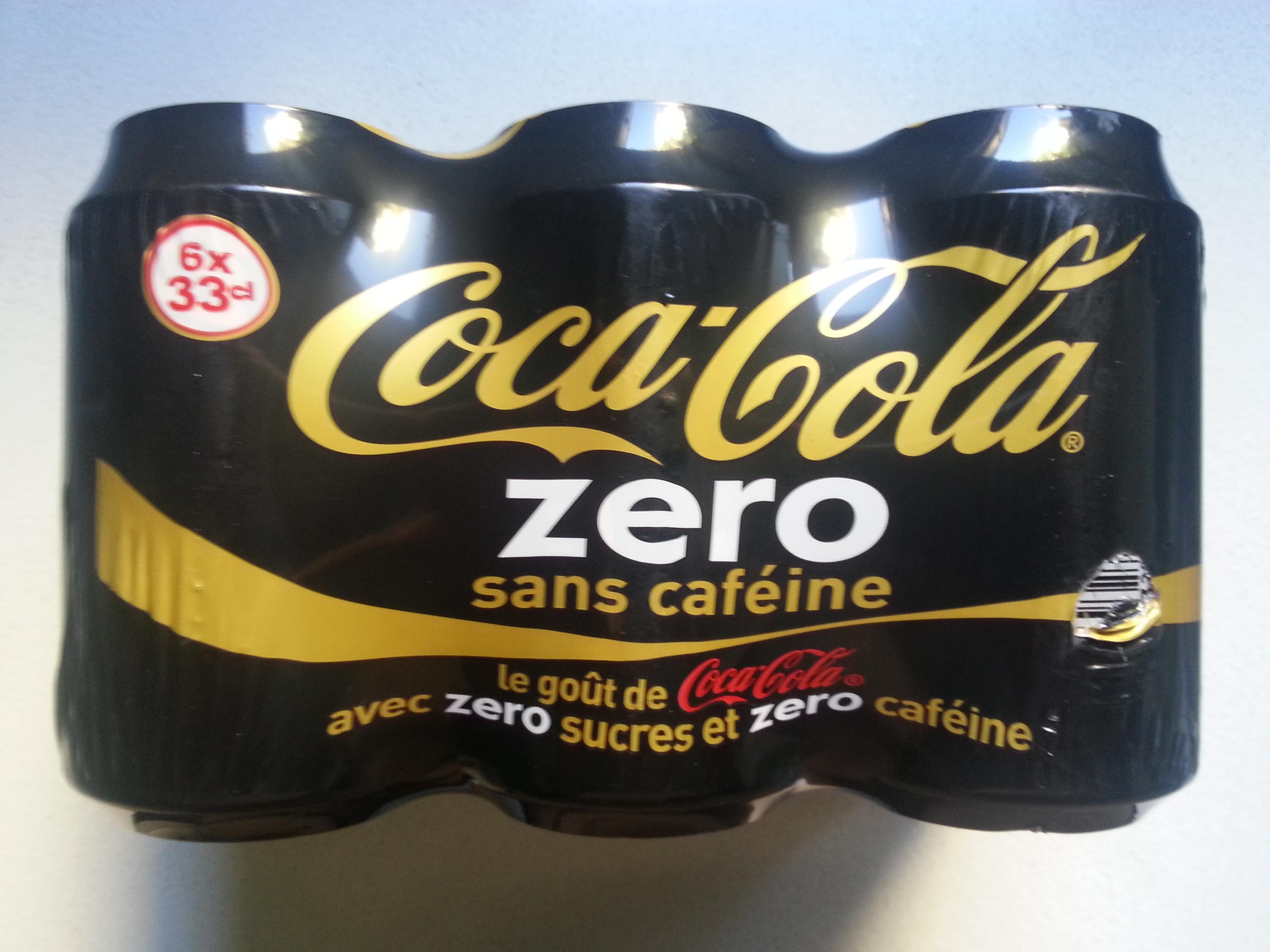 Coca-Cola Zero sans caféine - Prodotto - fr