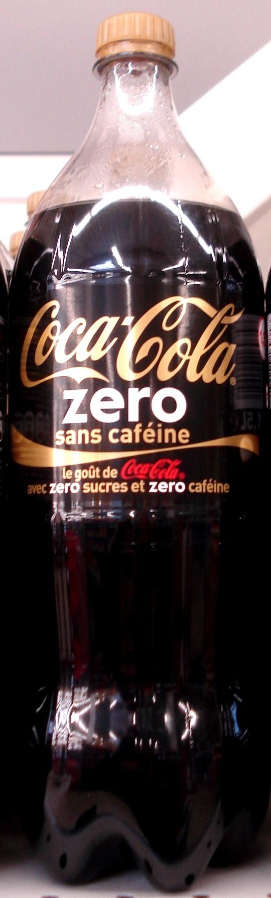 Coca Cola Zéro sans caféine - Product - fr