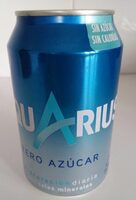 Aquarius limón zero lata - Prodotto - es