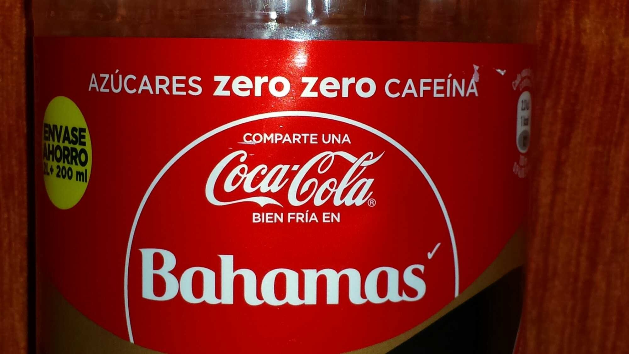 Coca-Cola Zero Zero - Producto - es