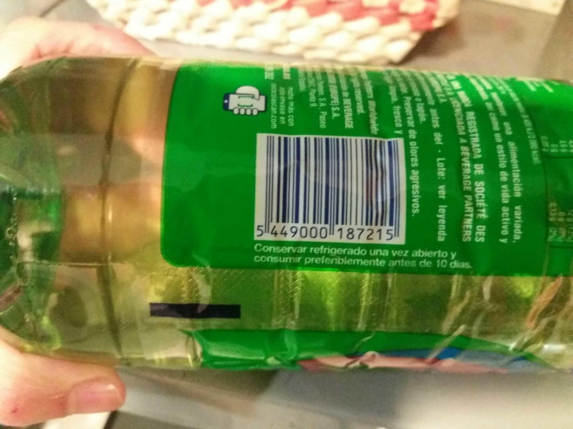 Bebida Refrescante De Extractos. Con Azúcar Y Edulcorante. - Product - es