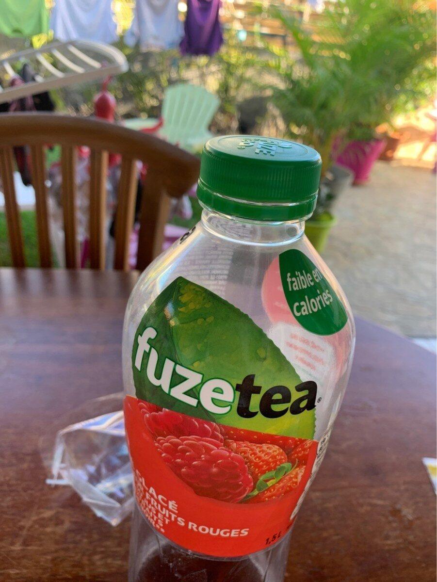 Fuze tea saveur fruit rouge faible en calorie - Product - fr