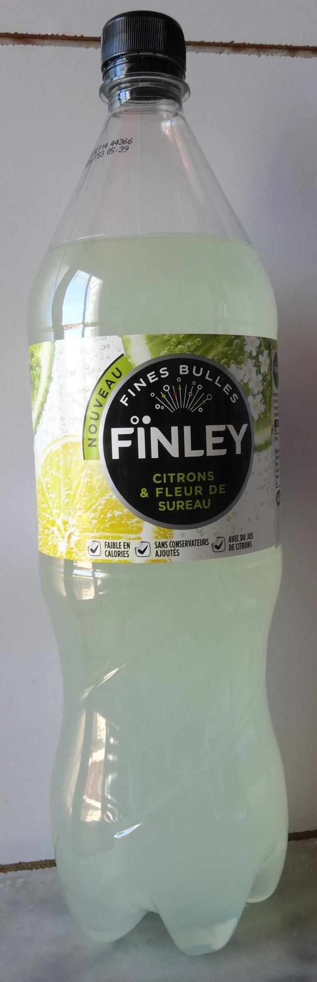finley citrons fleur de sureau 1 5 l. Black Bedroom Furniture Sets. Home Design Ideas