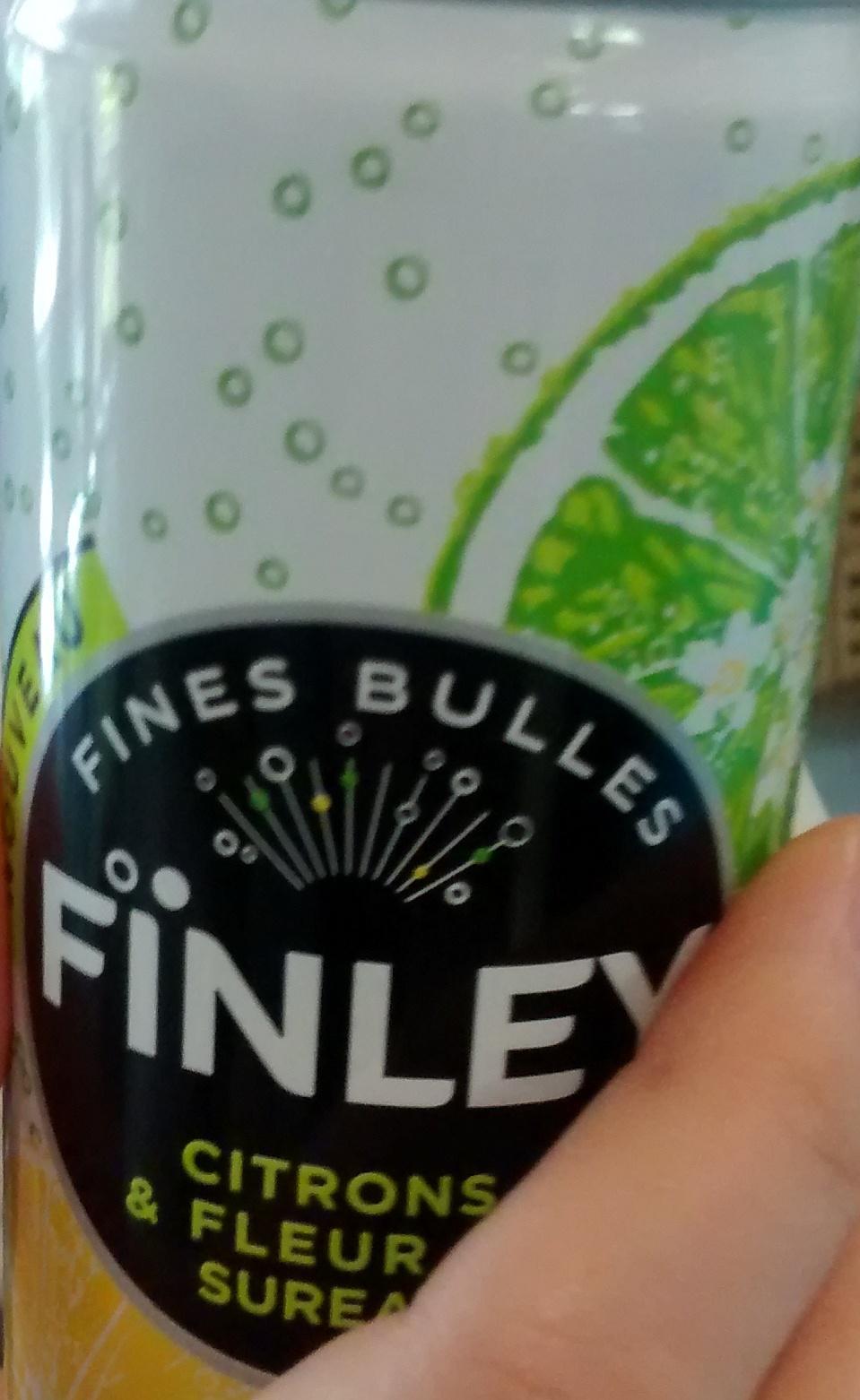 finley citrons & fleur de sureau - 250 ml