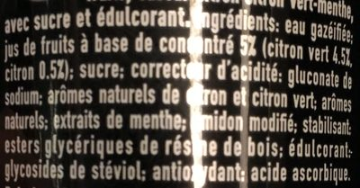 Mojito - Ingrédients - fr