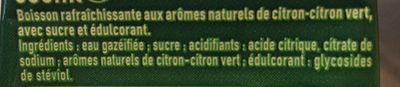 Sprite - Ingredients