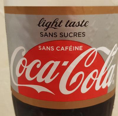 Coca-cola light sans caféine pet - Product - fr