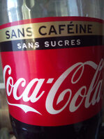 Coca-cola zero sans cafeine - Producto - fr