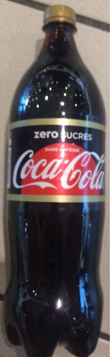 Coca-cola Zéro Sans caféine - Product - fr