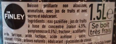 Finley royal - Ingrediënten - fr