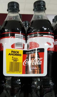 Coca Cola Zero Azúcar - Product - en
