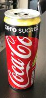 Coca Cola Zero Sucres - Prodotto - fr