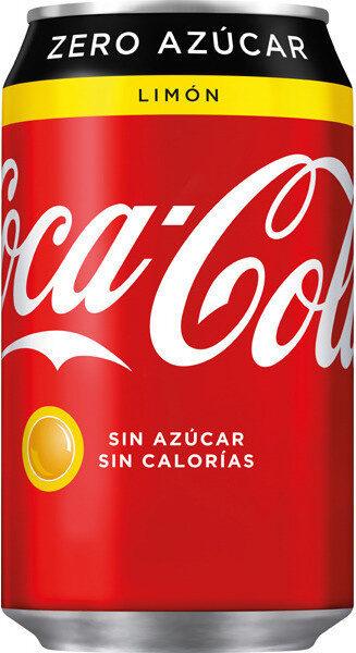 CocaCola Sabor Limón Zero azúcar - Producte - es