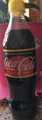 Coca Cola Zero Goût citron - Produit - fr