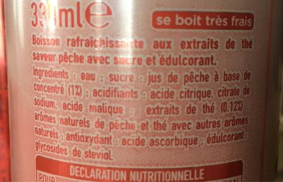 The glacé - Ingredients