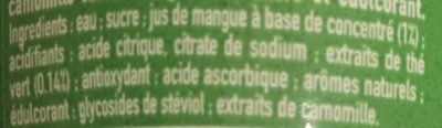 Fuzetea - Ingrédients - fr