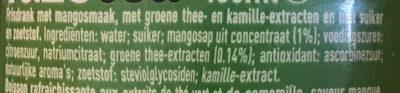 Fuzetea - Ingrediënten - nl