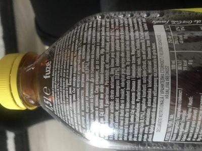 Black ice tea lemon - Ingrediënten