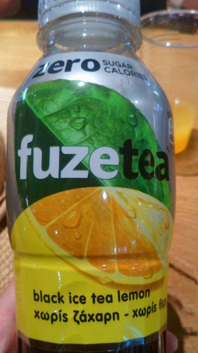 Sera sugar calorie black ice tea lemon - Product