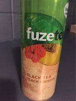BLACK TEA Peach Hibiscus - Produit - fr