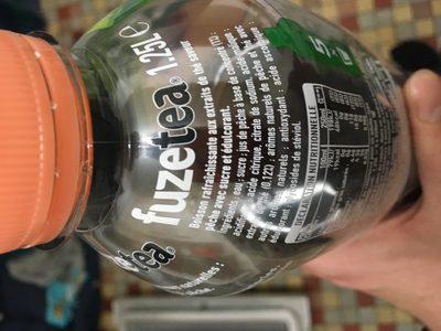 FuzeTea - Ingredients