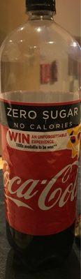 Coca cola zero sugar - Produit - fr