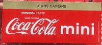 Coca-Cola Mini sans caféine - Prodotto - fr