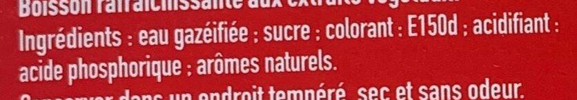 Coca-Cola Mini sans caféine - Ingredienti - fr