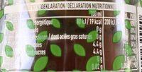 Fusetea Black Ice Tea - Voedingswaarden