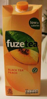Fuzetea black tea peach - Product - nl
