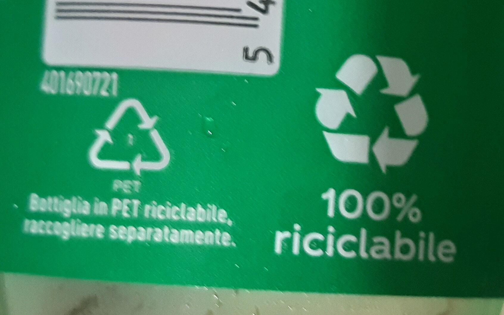 Sprite - Istruzioni per il riciclaggio e/o informazioni sull'imballaggio - it
