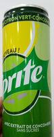 Soda 0% sucre saveur concombre, citron et citron-vert - Informations nutritionnelles - fr
