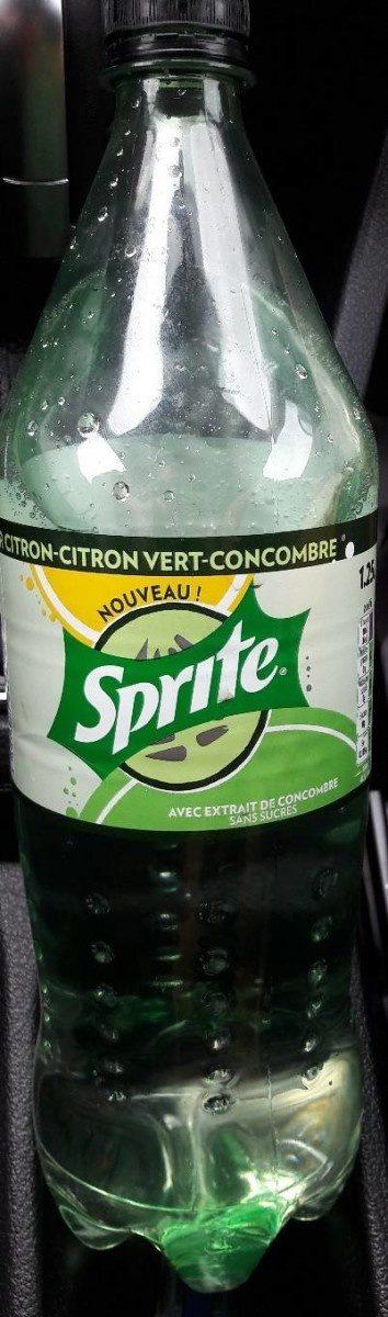 Sprite citron citron vert concombre - Product