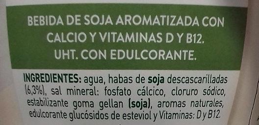 Soja Maravillosa AdeS - Ingredientes - es