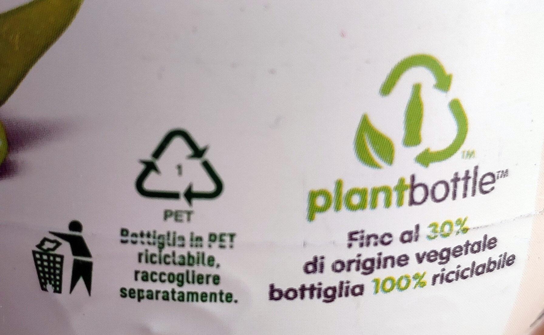 Sorprendete soia gusto delicatamente dolce - Istruzioni per il riciclaggio e/o informazioni sull'imballaggio - it