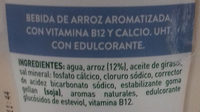 Arroz Ideal AdeS - Ingredients