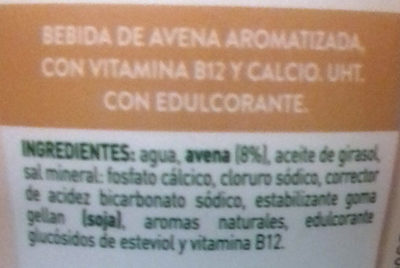 Avena de la Buena AdeS - Ingredients