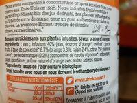 Honest infusion fruitée bio - Ingredients - fr