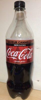 Coca saveur cannelle - Produit - fr