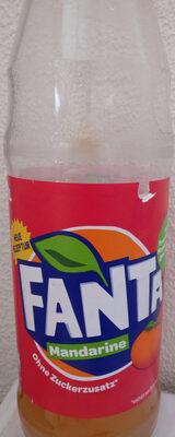Fanta Mandarine - Produit - de
