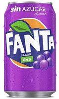 Fanta Uva - Product - es
