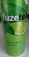 Green tea lime mint - Produit - fr